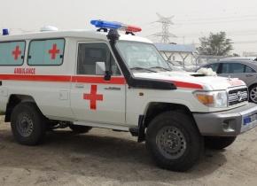 Toyota Landcruiser LC 76 Hardtop Ambulância